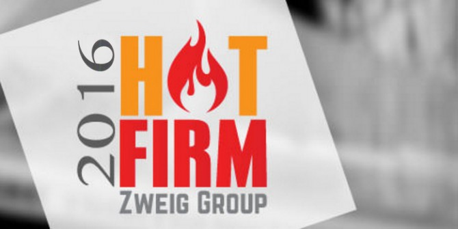 WestLAND Group, Inc., Named to Top 100 HOT FIRMS List by A/E Publisher Zweig Group